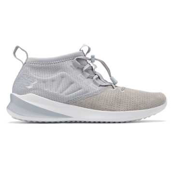 New Balance Cypher Run Luxe, Silver Mink with White