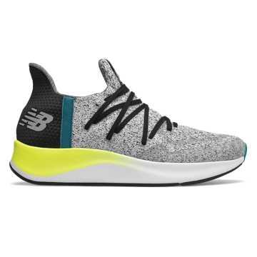 New Balance Cypher V2系列男款跑步鞋 独特时尚 运动也潮流, 白色/黑色