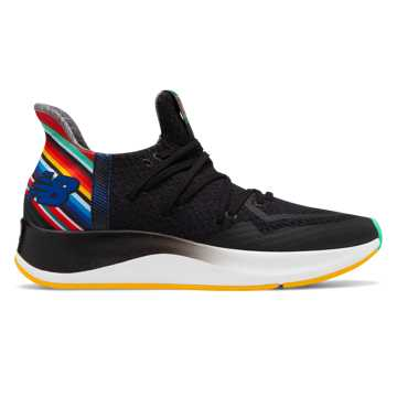 New Balance La Familia Cypher Run, Black with Multi Color