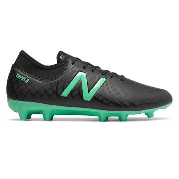 New Balance Tekela Magique FG, Black with Neon Emerald