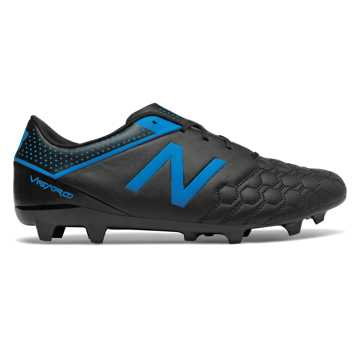 New Balance Visaro Liga Full Grain FG, Black with Bolt