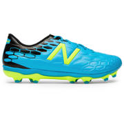 New Balance Visaro 2.0 Mid FG, Maldives Blue with Hi-Lite & Black