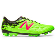 NB Visaro 2.0 Mid AG, Energy Lime with Military Dark Triumph & Alpha Pink
