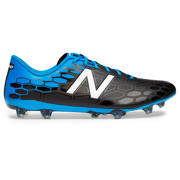 New Balance Visaro 2.0 Control FG, Black with Bolt & Energy Red
