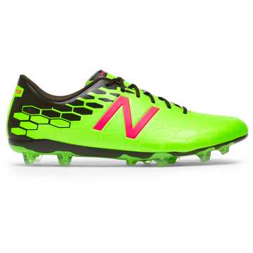 New Balance Visaro 2.0 Control FG, Energy Lime with Military Dark Triumph & Alpha Pink