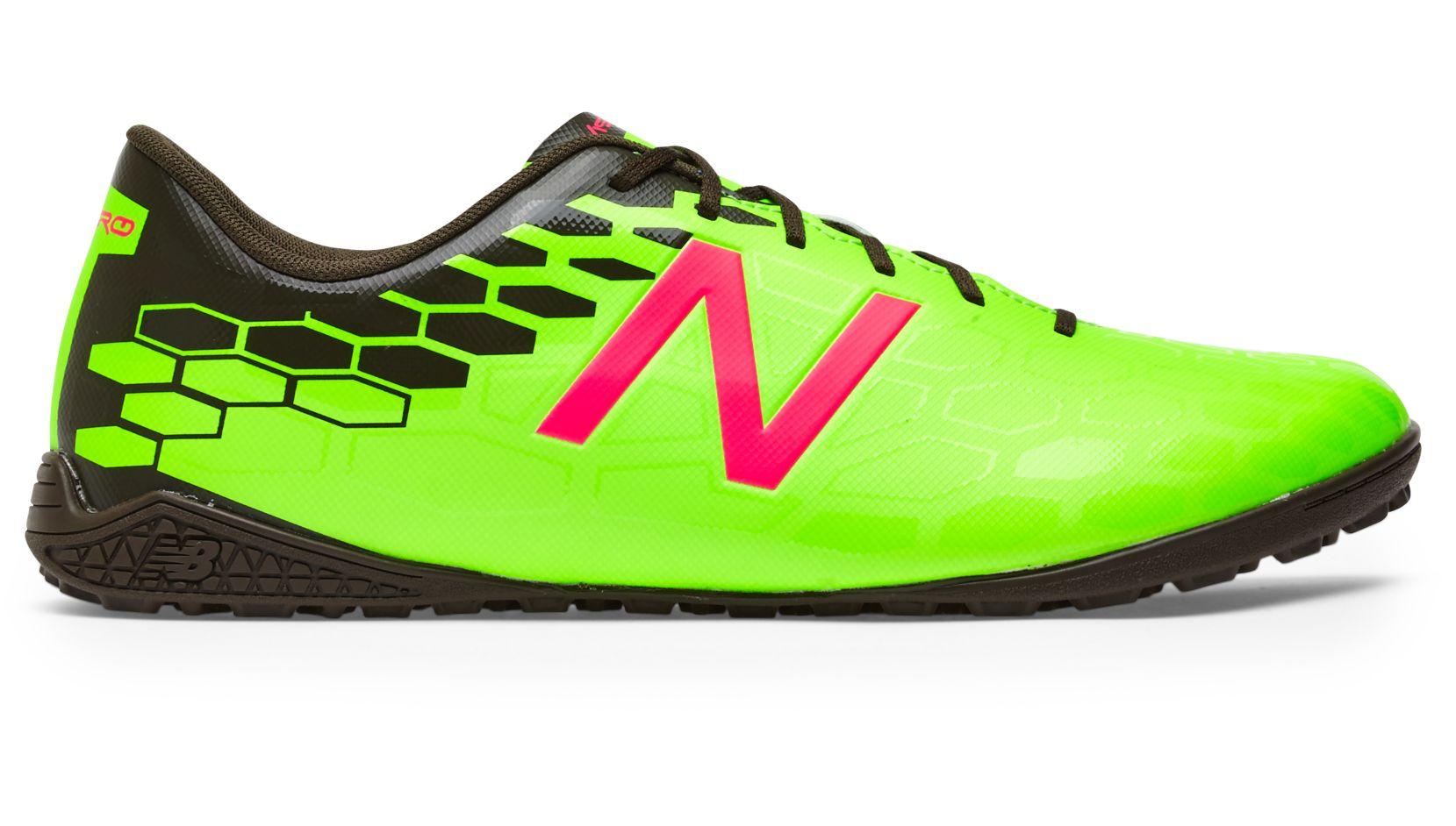 NB Visaro 2.0 Control TF, Energy Lime with Military Dark Triumph & Alpha  Pink
