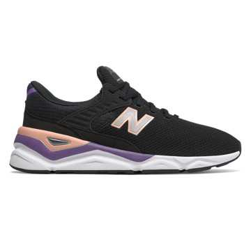 New Balance X-90, Black with Sunset