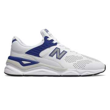 New Balance X-90, White with Navy