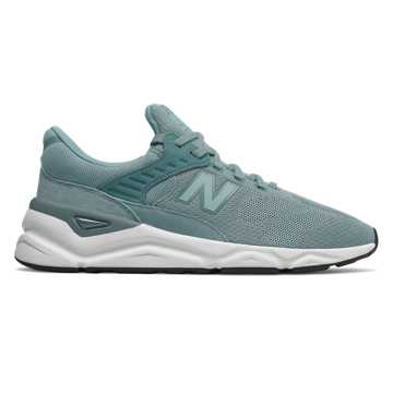 New Balance X-90, Smoke Blue with Light Petrol