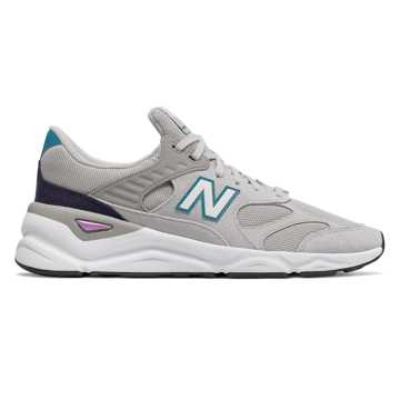 New Balance X-90, Rain Cloud with Deep Ozone Blue