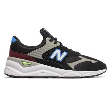 New Balance X-90, Black with Light Cobalt