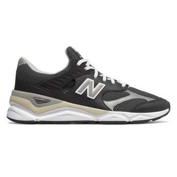 New Balance X-90 Reconstructed, Black with Orca