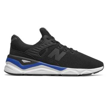New Balance X-90, Black with Team Royal