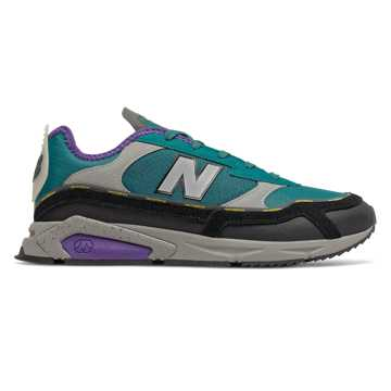 New Balance X-Racer, Team Teal with Black & Prism Purple