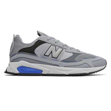 New Balance X-Racer, Steel with Vivid Cobalt