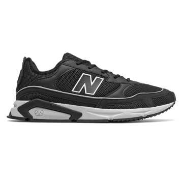 New Balance X-Racer, Black with Rain Cloud