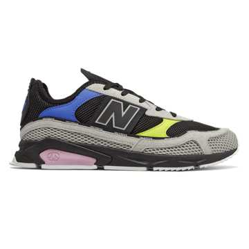 New Balance X-Racer, Rain Cloud with Black