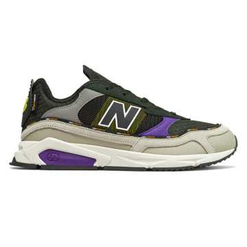New Balance X-Racer, Stonewear with Prism Purple