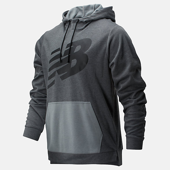New Balance Tenacity Lightweight Pullover Hoodie, MT01004AG