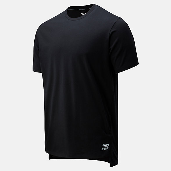NB Camiseta R.W.T. Heathertech, MT01055BK
