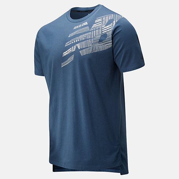 New Balance T-shirt imprimé R.W.T. Heathertech, MT01061SNH