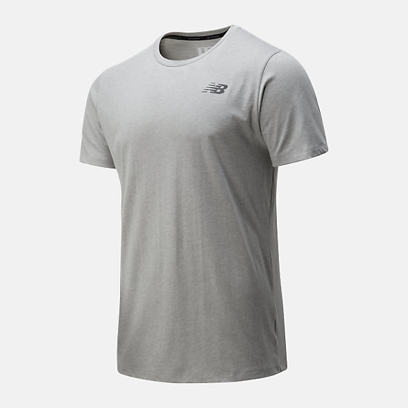 NB Camiseta Heathertech T, MT01070AG