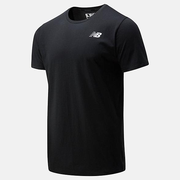 New Balance T-shirt Heathertech, MT01070BK