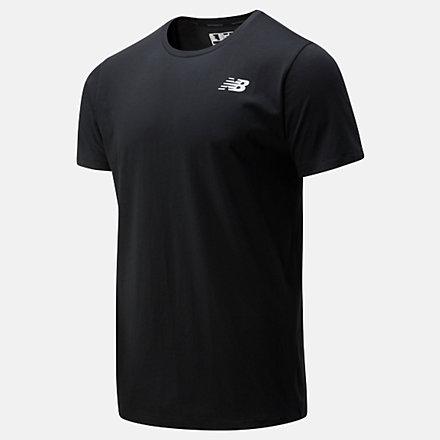 New Balance T-shirt Heathertech, MT01070BK image number null