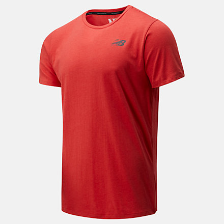 New Balance T-shirt Heathertech, MT01070TDH image number null