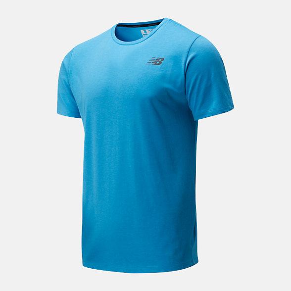 New Balance T-shirt Heathertech, MT01070VBR