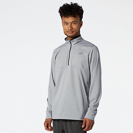 New Balance Tenacity Quarter Zip, MT01088AG image number null