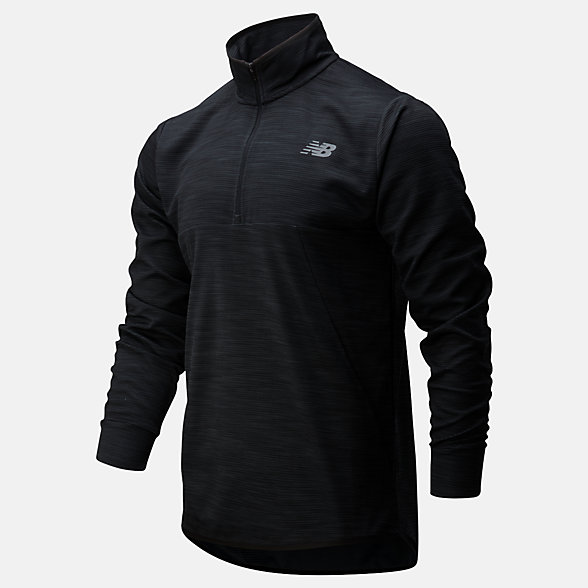 New Balance Tenacity Quarter Zip, MT01088BKH