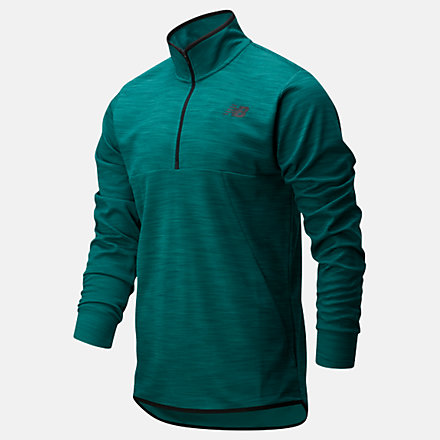 New Balance Tenacity Quarter Zip, MT01088MG3 image number null