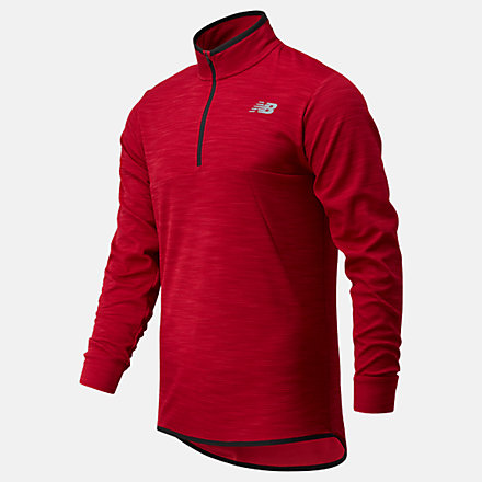 New Balance Tenacity Quarter Zip, MT01088NCR image number null