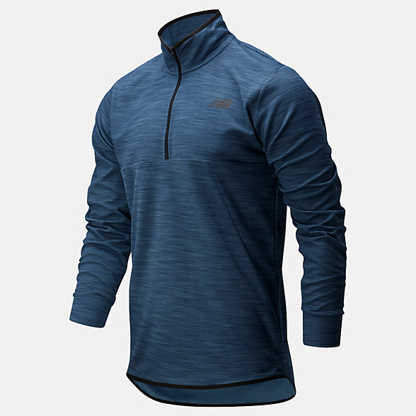 New Balance Tenacity Quarter Zip, MT01088SNH