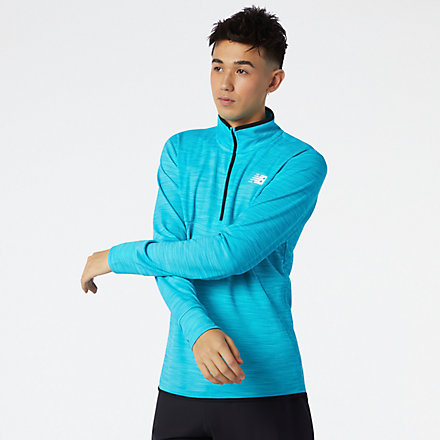 NB Tenacity Quarter Zip, MT01088VLS image number null