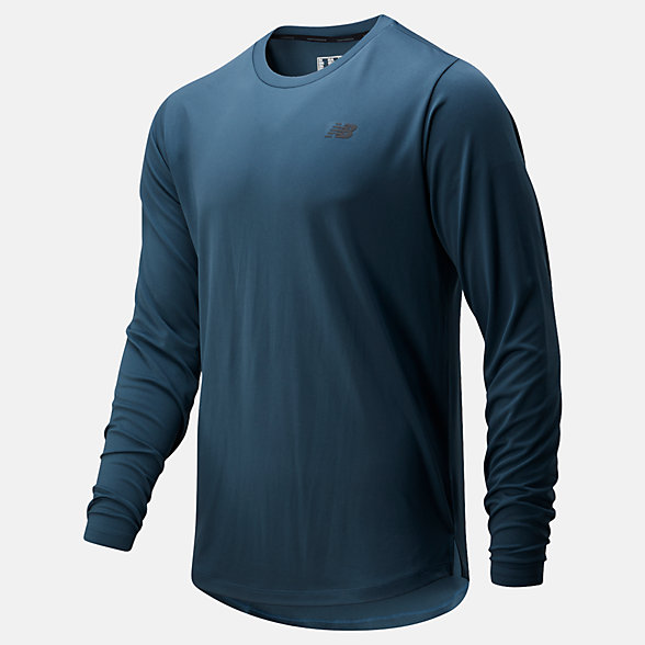 New Balance Fortitech Long Sleeve, MT01146SNB