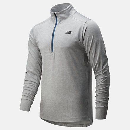 New Balance Fortitech Quarter Zip, MT01148AG image number null