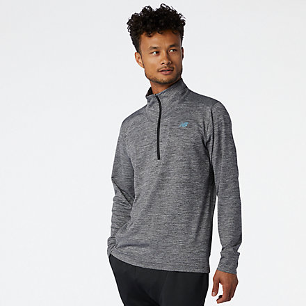 New Balance Fortitech Quarter Zip, MT01148BKH image number null