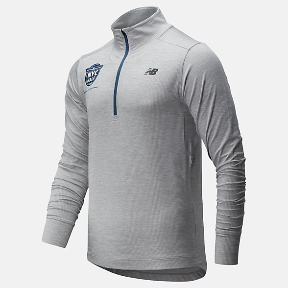 New Balance 2020 United Airlines Half Fortitech Quarter Zip, MT01148CAG