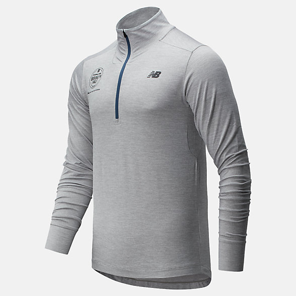 New Balance Popular Brooklyn Half Fortitech Quarter Zip, MT01148FAG