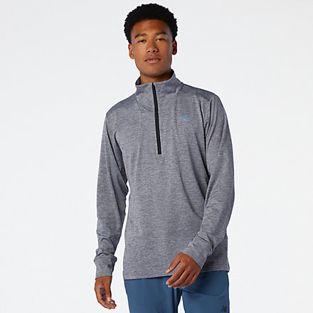 New Balance Fortitech Quarter Zip, MT01148LED image number null