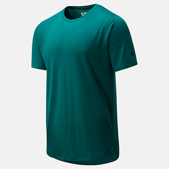 New Balance Fortitech Short Sleeve, MT01149MG2
