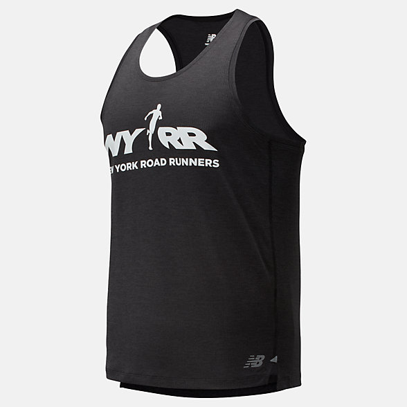 New Balance RFL Printed Impact Run Singlet, MT01233BBWP