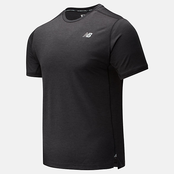 NB Impact Run Short Sleeve, MT01234BKH