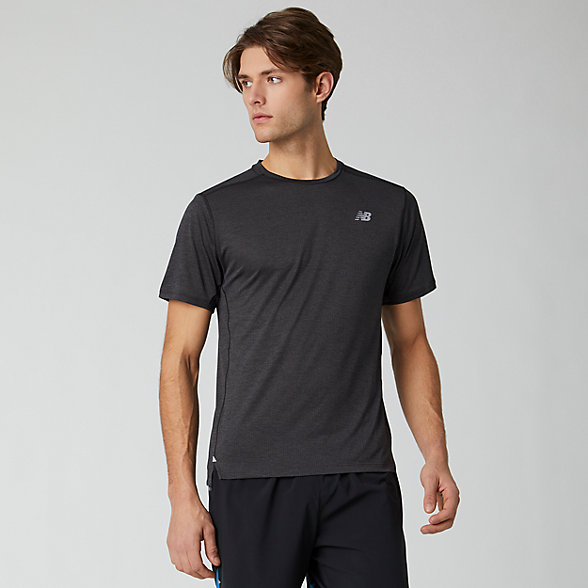 New Balance Impact Run Short Sleeve, MT01234BKH