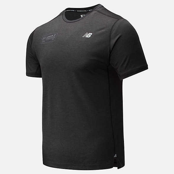 NB London Edition Impact Run Short Sleeve , MT01234DBKH