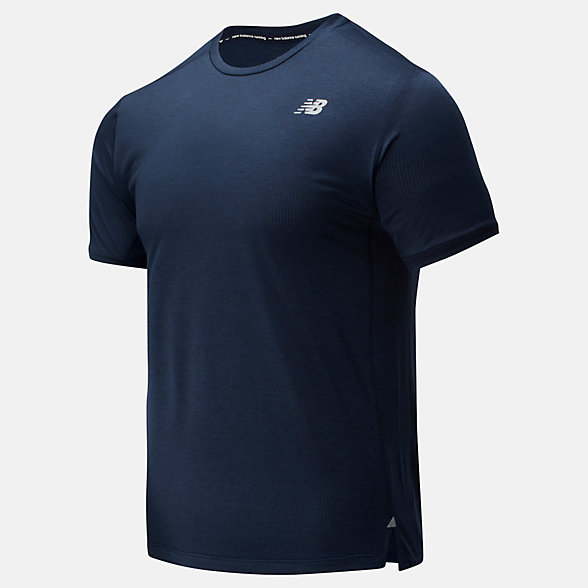 New Balance Impact Run Short Sleeve, MT01234ECR