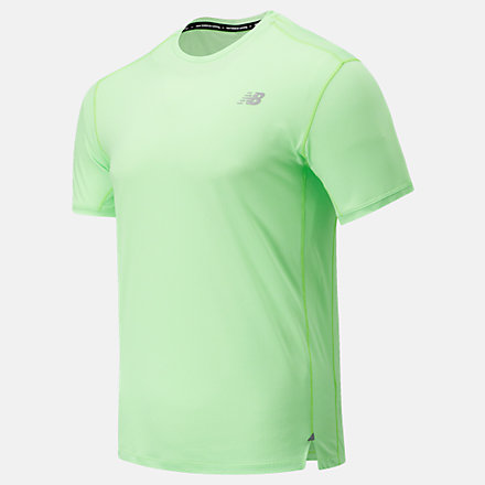 New Balance Impact Run Short Sleeve, MT01234ELR image number null
