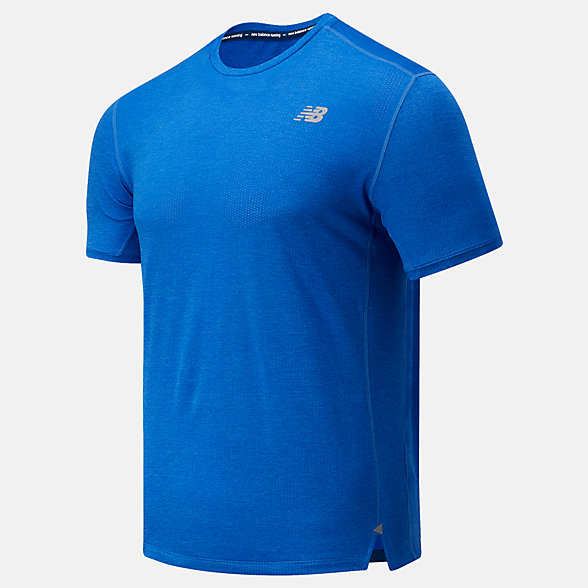 New Balance Impact Run Short Sleeve, MT01234FCT